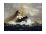Potsdam Passenger Ship Giclee Print by Fred Pansing