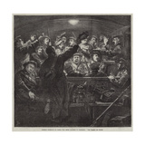 German Recruits on their Way from Cologne to Mayence, Die Wacht Am Rhein Giclee Print by Frederick Barnard
