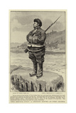 Too Muchee Colo, a Chinese Sentry at Port Arthur Giclee Print by Frank Dadd