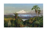 Cayambe, 1858 Giclee Print by Frederic Edwin Church