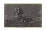 The Sphinx at Midnight, in the Exhibition of the Royal Academy Giclee Print by Frank Dillon