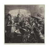 Pour Les Blesses, a Scene at Lyons Giclee Print by Frederick Barnard