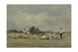 Haymakers Resting Giclee Print by Frederick Waters Watts