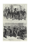 Paris Commune Giclee Print by Frederick Barnard