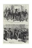 Paris Commune Giclee Print by Frederick Barnard