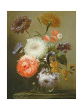 Still Life of Flowers, 1699 Giclee Print by Franz Werner Tamm