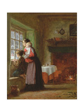 An Anxious Time, 1876 Giclee Print by Frederick Daniel Hardy