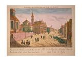 Vuë De La Rue Des Recolets De Quebec, Published C.1770S Giclee Print by Franz Xavier Habermann