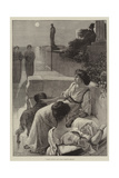Coming Events Cast their Shadows Before Giclee Print by Frederick Sargent