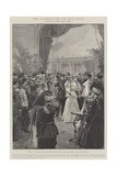 The Coronation of the Czar Reproduction procédé giclée par Frederic De Haenen