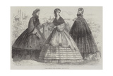 Paris Fashions for September Giclee Print by Frederic Theodore Lix