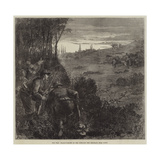 The War, Francs-Tireurs on the Look-Out for Prussians Near Paris Giclee Print by Frederick Barnard