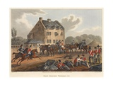 Head Quarters Waterloo 1815, Engraved by M. Dubourg, 1819 (Coloured Aquatint) Giclee Print by Franz Joseph Manskirch