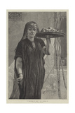 A Fruit-Woman of Cairo Giclee Print by Frederick Goodall