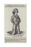 Statuette of Hrh the Prince of Wales Giclee Print by Franz Xaver Winterhalter