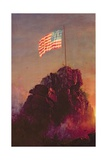 Our Flag, 1864 Giclee Print by Frederic Edwin Church