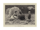 Midday Rest Giclee Print by Frederick Morgan
