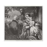 The First of May, 1851 Giclee Print by Franz Xaver Winterhalter