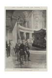 The Czar's Visit to Paris Giclee Print by Frederic De Haenen