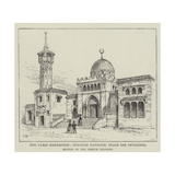 The Paris Exhibition, Tunisian Pavilion, Place Des Invalides, Section of the French Colonies Giclee Print by Frank Watkins