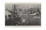 The Coronation Naval Review at Spithead, 16 August Giclee-trykk av Fred T. Jane