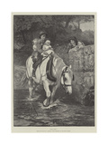 Hold Tight! Giclee Print by Frederick Morgan