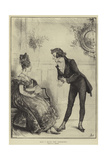 May I Have the Pleasure Giclee Print by Frederick Barnard