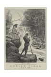 Adrian Vidal Giclee Print by Frederick Barnard