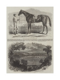 New Racecourse at Fontainebleau Giclee Print by Frederic Theodore Lix