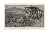 Off to the Goldfields!, Travelling in the Transvaal Giclee Print by Frank Dadd