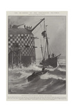 The Re-Arming of the Portsmouth Sea-Forts Giclee-trykk av Fred T. Jane