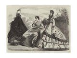 Paris Fashions for July Giclee Print by Frederic Theodore Lix