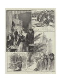 Sketches at Monte Carlo Giclee Print by Frederick Pegram