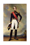 Louis-Charles-Philippe of Orleans (1814-96) Duke of Nemours, 1843 Giclee Print by Franz Xaver Winterhalter