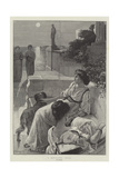 A Moonlight Idyll Giclee Print by Frederick Sargent