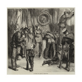 Searching for Arms at Versailles Giclee Print by Frederick Barnard