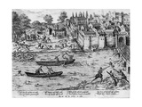 The Massacres of Tours, July 1562 Giclee Print by Franz Hogenberg