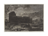 The Coliseum, Rome Giclee Print by Frederick Lee Bridell