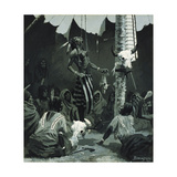 Mandan Initiation Ceremony (The Sundance), 1888 Giclee Print by Frederic Remington