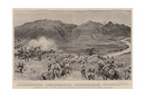 General View of the Field of Battle before Spion Kop from Gun Hill Giclee Print by Frank Dadd
