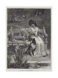 There's Room for Two Giclee Print by Frederick Morgan
