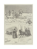 Siberia in Winter Giclee Print by Frederick Pegram