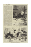 People I Have Met, the Rector Giclee Print by Frederick Barnard