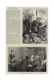 People I Have Met, the Newspaper Editor Giclee Print by Frederick Barnard