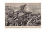 The City Imperial Volunteers in Action, a Reconnaissance in Force Near Britstown Reproduction procédé giclée par Frederic De Haenen