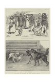 Sketches in Siberia Giclee Print by Frederick Pegram