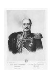 Count Pavel Dmitrievich Kiselyov Giclee Print by Franz Kruger