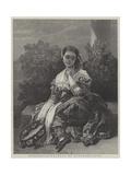 Penserosa! Giclee Print by Franz Xaver Winterhalter