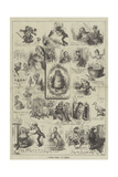 A Christmas Medley Giclee Print by Frederick Barnard