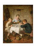 Dinner Time Giclee Print by Frederick Morgan